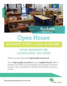 Buckeye Head Start Preschool Open House @ Buckeye Head Start | Cleveland | Ohio | United States