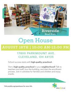 Riverside Head Start Preschool Open House @ Riverside Head Start | Cleveland | Ohio | United States