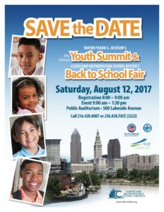 Mayor Frank G. Jackson's 11th Annual Youth Summit and Cleveland Metropolitan School District's Back to School Fair @ Public Auditorium | Cleveland | Ohio | United States