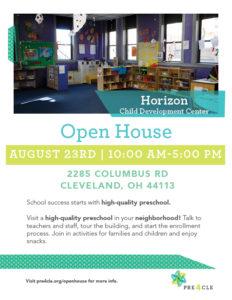 Horizon Child Development Center Preschool Open House @ Horizon Child Development Center | Cleveland | Ohio | United States
